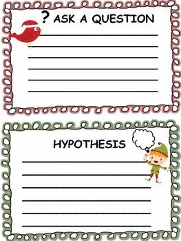 CHRISTMAS SCIENTIFIC METHOD - Experiment Log Booklet