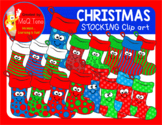 CHRISTMAS STOCKING CLIPARTS