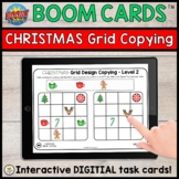 CHRISTMAS Spatial Relations Design Copying BOOM CARDS™ for
