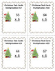 Christmas Math Task Card Bundle - 144 Task Cards (Differentiated with 3 Levels)