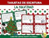 Christmas Task Cards en Español - Tarjetas de escritura creativa: la Navidad