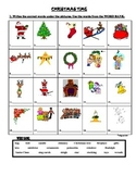 CHRISTMAS TIME - MATCHING WORDS WITH PICTURES