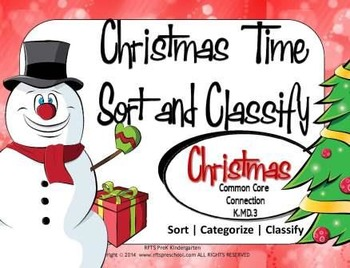 CHRISTMAS TIME SORT and CLASSIFY