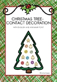 CHRISTMAS TREE- CONTACT DECORATION (IN ENGLISH AND MYANMAR)