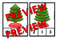 CHRISTMAS TREE COUNTING CENTER: CHRISTMAS KINDERGARTEN COUNTING ACTIVITIES: 1-10