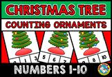 CHRISTMAS TREE COUNTING CENTER (DECEMBER ACTIVITY KINDERGARTEN) NUMBERS 1-10