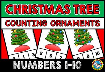 CHRISTMAS TREE COUNTING CENTER: CHRISTMAS KINDERGARTEN COU