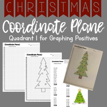 CHRISTMAS TREE Graphing Coordinate Planes!