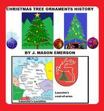 CHRISTMAS TREE ORNAMENTS HISTORY