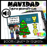 Figuras geométricas   Christmas Shapes Boom Cards™ in Spanish