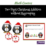 CHRISTMAS TWO-DIGIT ADDITION WITHOUT REGROUPING