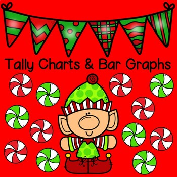 CHRISTMAS MATH:  Tally Charts and Bar Graphs