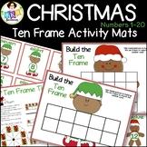 Christmas Ten Frames ● Christmas Math Games ● Numbers 1-20 ● Math Centers