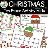 Christmas Ten Frames ● Christmas Math Games ● Numbers 1-20