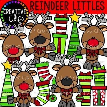 Christmas Friends Bundle: Christmas Clipart {Creative Clips Clipart}