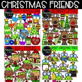 Christmas Friends Bundle: Christmas Clipart {Creative Clips Clipart}