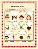 CHRISTMAS VIRTUE ACTIVITY: GRADES 2-5, CROSS-CURRICULAR & ESL