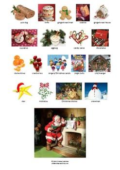 CHRISTMAS - PICTIONARY