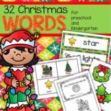 CHRISTMAS Vocabulary Center & Group Activities for Preschool & Kindergarten
