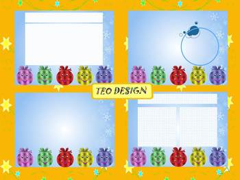 Winter Activities - 3 EDITABLE POWERPOINT TEMPLATES