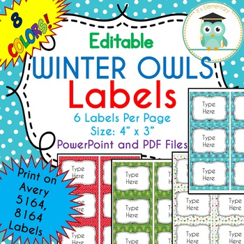 Editable Avery Labels 8164 Worksheets & Teaching Resources | TpT