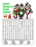 CHRISTMAS WORD SEARCHES, BUNDLE 12 PAGES, CHRISTMAS ACTIVITIES