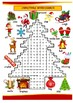 CHRISTMAS WORDSEARCH fun activity word search