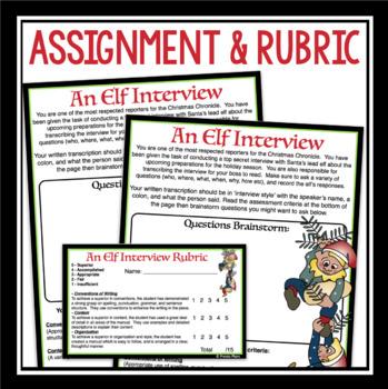 CHRISTMAS WRITING: AN ELF INTERVIEW