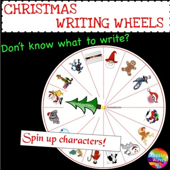CHRISTMAS WRITING NARRATIVES Fun novel tool for reluctant writers STORY PROMPTS