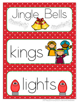 CHRISTMAS Word Wall (Distance Learning)