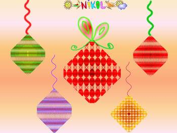 Christmas Activities - Ornaments - Clip Art - Personal or Commercial Use