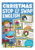 CHRISTMAS speaking prompts - ESL / English, primary vocabulary game