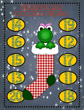 CHRISTMAS/WINTER NUMBER,LETTER,SHAPE, and BEGINNING SOUNDS BINGO GAMES