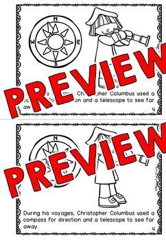 CHRISTOPHER COLUMBUS DAY ACTIVITIES: CHRISTOPHER COLUMBUS BOOK