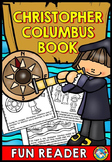 CHRISTOPHER COLUMBUS ACTIVITY 3RD GRADE (OCTOBER READING BOOK)