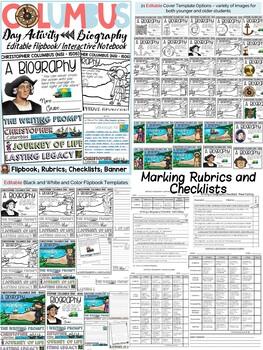 CHRISTOPHER COLUMBUS BUNDLE {BIOGRAPHY, SCAVENGER HUNT, POSTERS, BANNER}