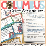 CHRISTOPHER COLUMBUS SCAVENGER HUNT {FACT CARDS, BANNER, POSTER TEMPLATES}