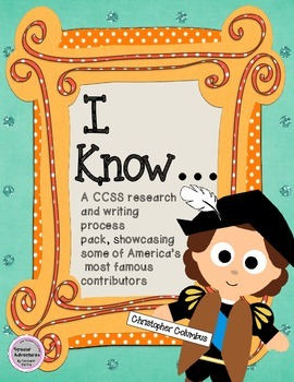CHRISTOPHER COLUMBUS WRITING AND RESEARCH PACK