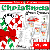 CHRISTmas Preschool and PreK Activities