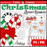 CHRISTmas Candy Cane Preschool Mini-Pack