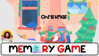 2 Christmas Memory Games Editables Online Teaching Distance Remote Learning