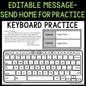 photo about Keyboard Printable known as CHROMEBOOK KEYBOARD PRINTABLE Train SHEETS
