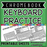 CHROMEBOOK KEYBOARD PRINTABLE PRACTICE SHEETS