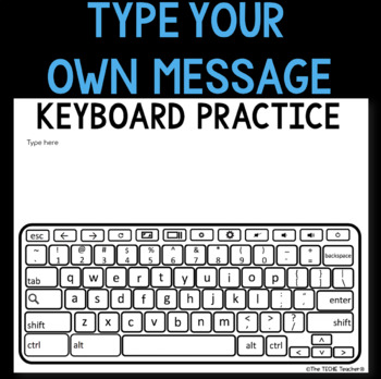 Chromebook Keyboard Printable Practice Sheets By The Techie Teacher Teachers Pay Teachers