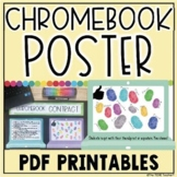 CHROMEBOOK RULES POSTER | CHROMEBOOK CONTRACT