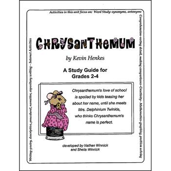 CHRYSANTHEMUM - STUDY GUIDE Gr. 2-4