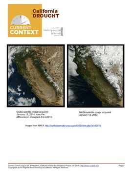 CHSSP California Drought