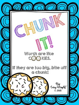 CHUNK IT! - Long Vowel Teams with Blends, Digraphs and Endings