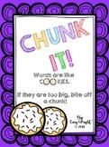 CHUNK IT! - Short Vowels Blends, Digraphs, & Endings