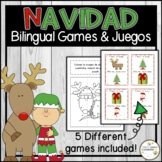 Christmas - Navidad GAMES (English & Spanish)